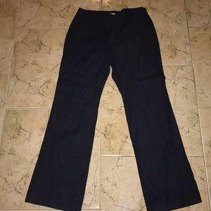 LOFT Navy Blue Sailor Pants
